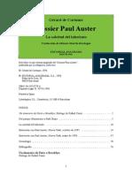 Auster, Paul - Gerard de Cortanze. Dossier Paul Auster. La Soledad Del Laber