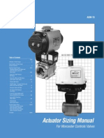 Actuator Sizing - valves