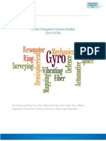 Global Navigation Systems Market (2014-2020)