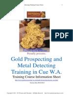 Gold Prospecting WA