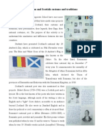 Romanian and Scottish Customs and Traditions