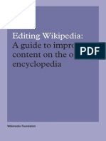 Editing Wikipedia Brochure En