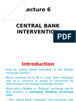 Lecture 6_Central Bank Intervention