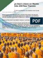 Lama Surya Das's Views on Monks Going Into 200-Year Trances