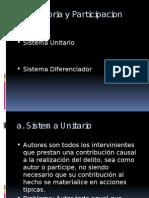 Autoria y Participacion PENAL