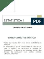 Est - Aula 1 - História Da Estatistica