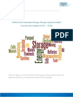 Global Next Generation Energy Storage Systems Market Forecast and Analysis (2014 – 2020)