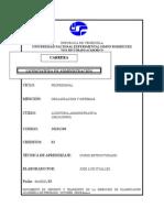 Prog. Auditoría Administrtiva (Organisación y Sistemas) UNESR
