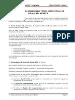 07 Escalas Desarrollo y Nivel Intelectual en Educación Infantil (Enero 2015)