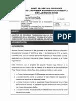 Punto de cuenta para II y III  de Etapa Ciudad Chávez