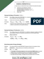 Chemical Energetics (2)