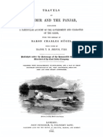 Travels in Kashmir and the Panjab - Baron Charles Hugel