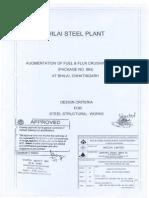 1814 3) Design Criteria for Steel Structural Works
