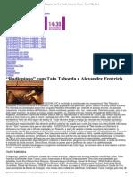 """""""Radiopiano"""" Com Tato Taborda e Alexandre Fenerich _ Festival Villa-Lobos"""