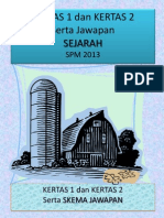 KERTAS 1 SEJARAH