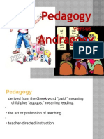 Pedagogy vs Andragogy