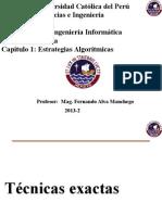 CAP1 Estrategias Algorítmicas - Programación Dinámica