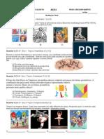 ARTES Verificação de Aprendizagem III Bim