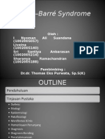 Guillain Barre Syndrome - Presentasi