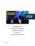 EUCodeweek Austria CodingSchool Projektbericht 2014