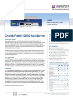 13800 Appliance Datasheet