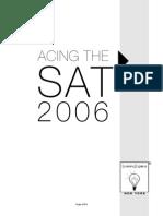 Acing the SAT 2006