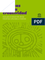 Politicas para la Creatividad