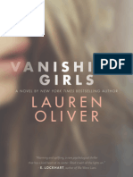 Vanishing Girls by Lauren Oliver (extract)