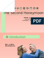 Second Honeymoon Case study