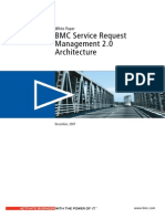 White Paper BMC Service Request Management 2 0 Architecture