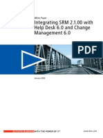 Integrating SRM 2 1 00 with Help Desk 6 0 and Change Management 6 0