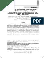 Condiciones previas para el uso de marcadores arqueobotánicos y químicos en estudios arqueológicos sobre complejos fumatorios