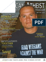 American Atheist Magazine April 2009