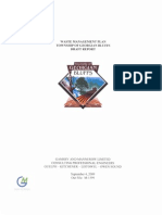 Georgian Bluffs Draft Waste Management Plan September 4, 2009