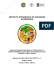 Plan de Capacitación Nutrición