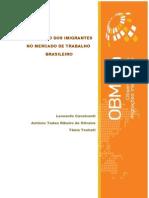 Relatorio Parcial a Inserçao Dos Imigrantes No Mercado de Trabalho Brasileiro
