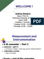 Meassurement and Instrumentation