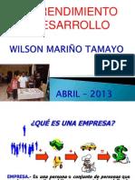 Emprendimiento y Desarrollo Ppt