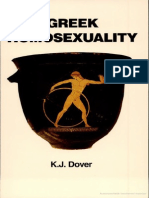 K. J. Dover Greek Homosexuality Updated and With a New Postscript 1989