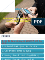 Training Wifi DH Tra Vinh