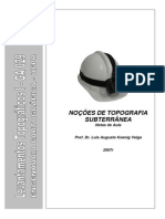Manual de Topografia de Minas