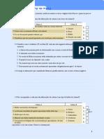 Ficha de Avaliação Sumativa Minerais