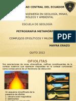 8. Complejos ofioliticos