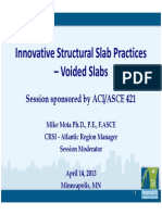 Innovative Structural Slab Practices