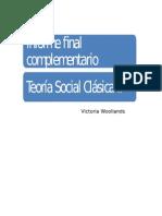 Informe Final Teoría Social Clásica II