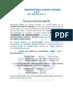 Circular Unificacion Cuenta Corriente Bancolombia