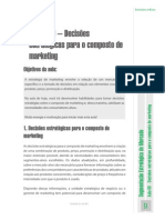 UvbAula Nº 9 – Decisões Estratégicas Para o Composto de Marketing