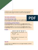 Statistics notes spm add maths