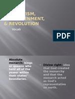 absolutism, enlightenment, and revolution vocab 20151 (1)
