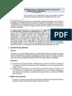 TERMINOS DE REFERENCIA - ZEE